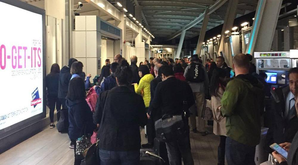 UPDATED: Train service resumes to YVR Airport Station after police incident