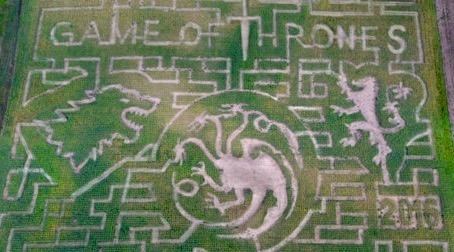 There's a 10-acre Game of Thrones corn maze in Ontario