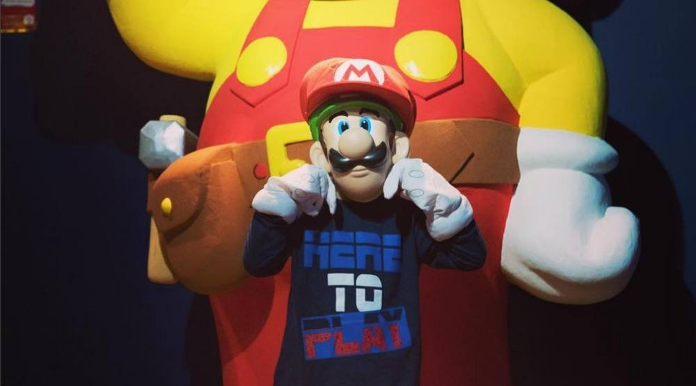 Check out the new Nintendo exhibition at Musee Grevin