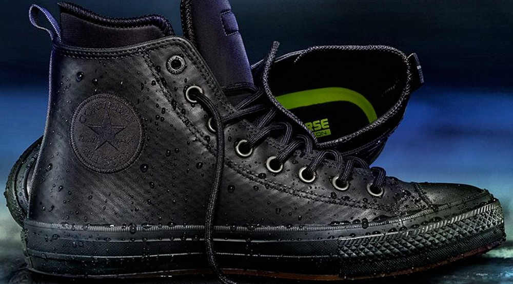 7cd76e5635bf Converse came out with a fully waterproof Chuck Taylor All Star II ...