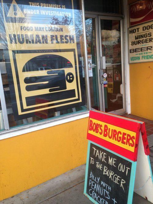 What'sUp? HotDog! as Bob's Burgers on Halloween 2015.