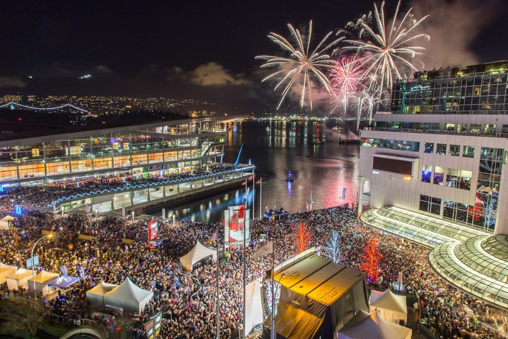 Image: Jenn Chan / New Year's Eve Vancouver