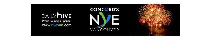 nye banner new year's eve vancouver