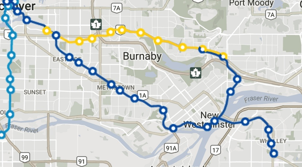 Skytrain route map new 2