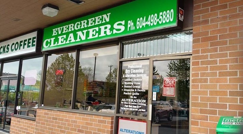 Image: Evergreen Dryclean & Alterations / Facebook