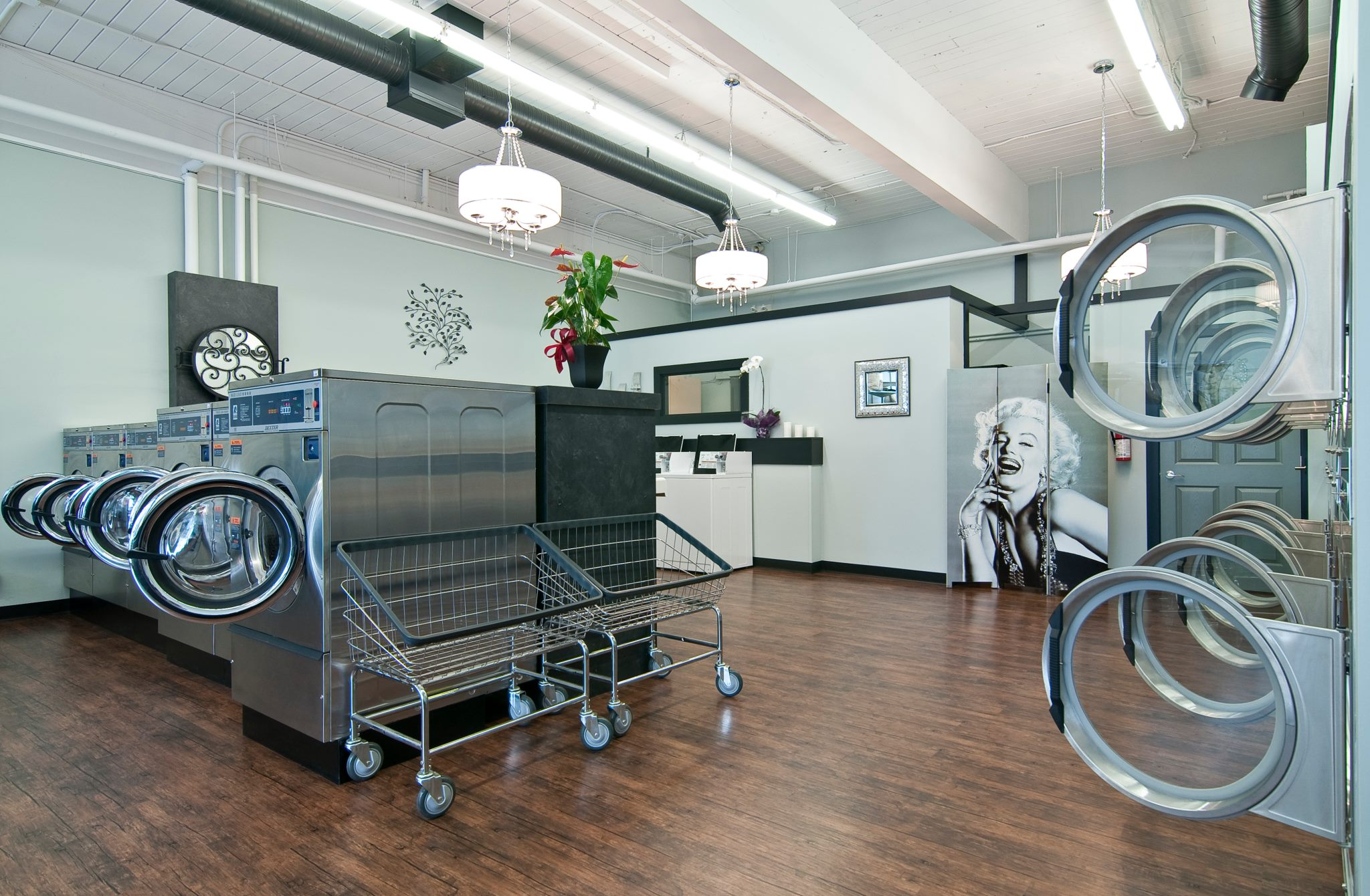 Laundromat drycleaners
