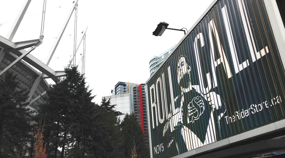 Roughriders new Vancouver billboard a lame attempt at trolling BC Lions fans