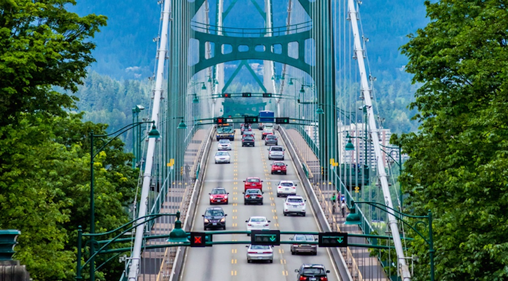 After a nosedive, Metro Vancouver's vehicle traffic volumes are now surging