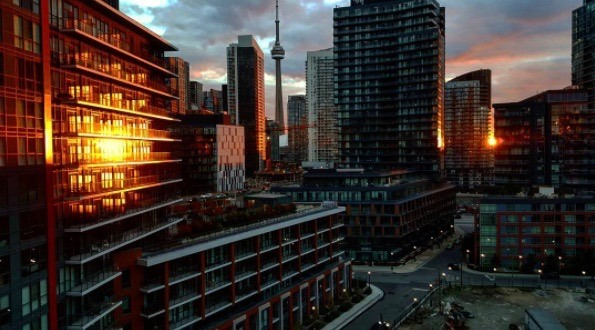 The best Toronto sunset of the year will happen today