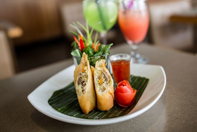 Spring Rolls from Thai House