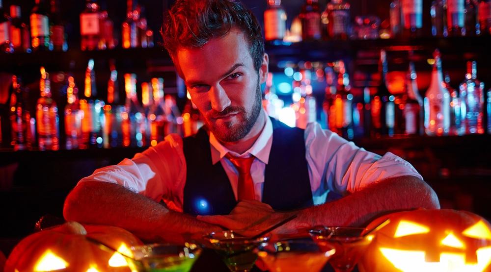Scary bartender