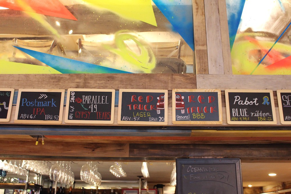 Beer options (Lindsay William-Ross/Daily Hive)