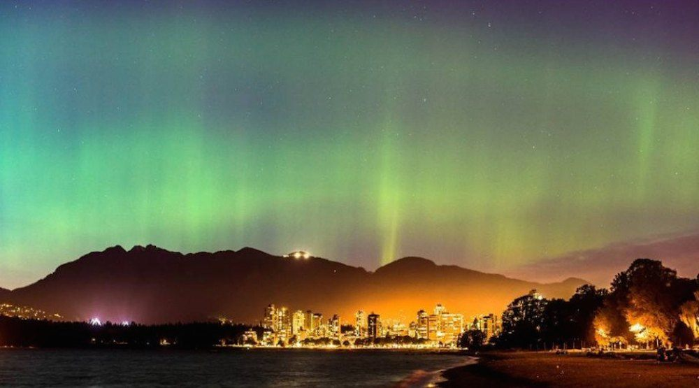 Northern Lights might put on a big show in Metro Vancouver tonight