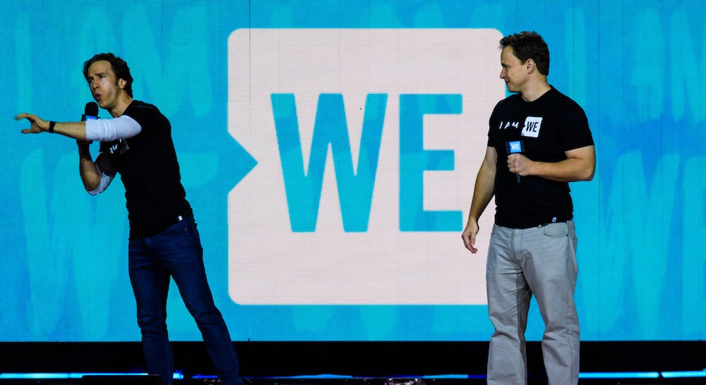 Image: Craig and Marc Kielburger - WE co-founders / Daily Hive