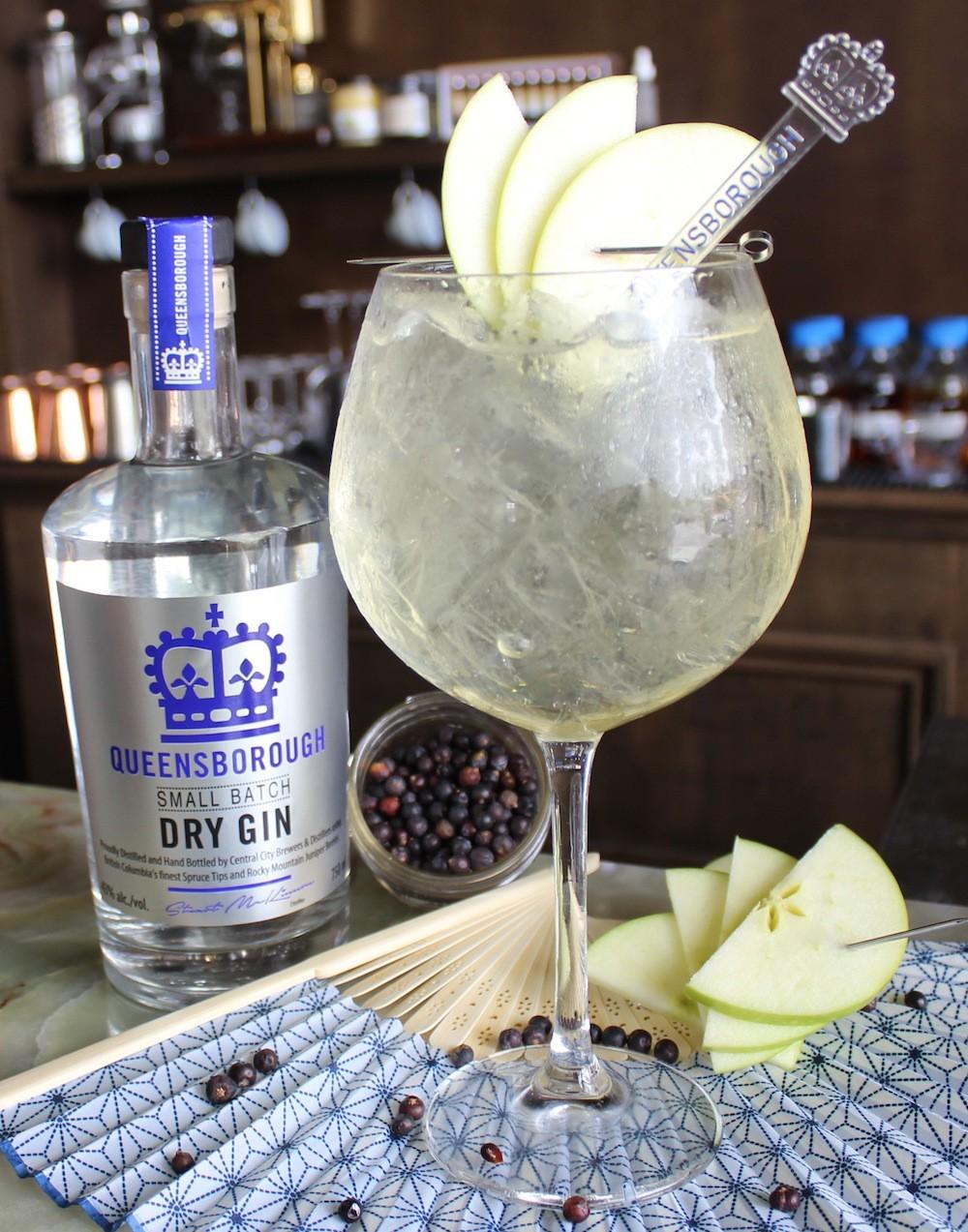 Spring Into Gin cocktail (Photo courtesy Central City)