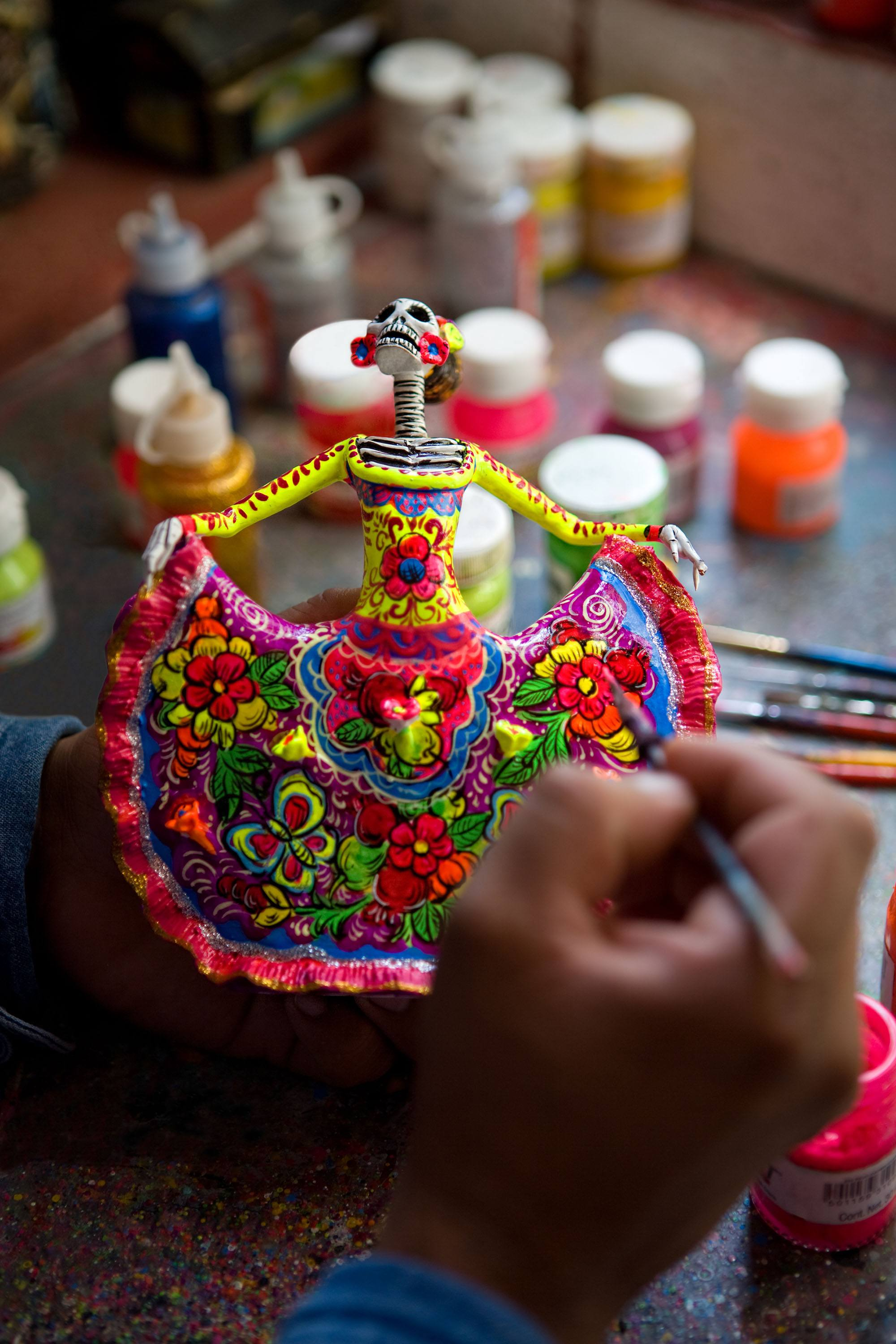 Day of the Dead crafts (Mexico Tourism Board)