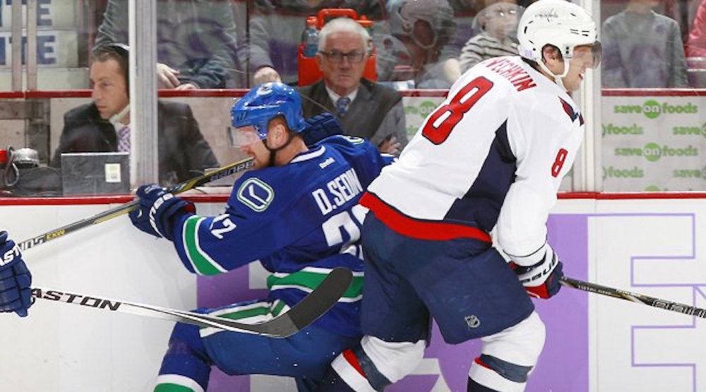 Canucks in search of a goal versus Ovechkin and the Capitals