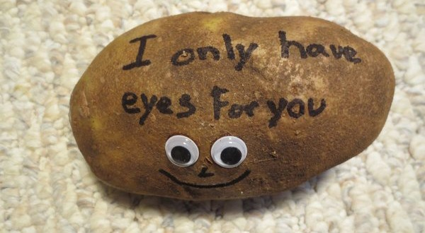 Tatergrams potato with googly eyes tatergrams1