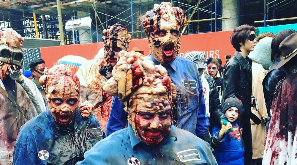15 terrifying photos from this year's Zombie Walk