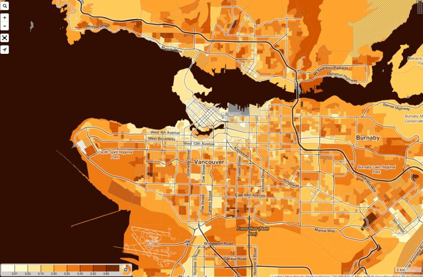Tick-Or-Treat Onslaught Estimator/Canada Census Mapper