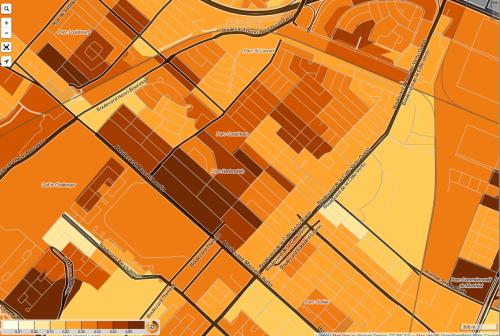 Trick-Or-Treat Onslaught Estimator/Canada Census Mapper