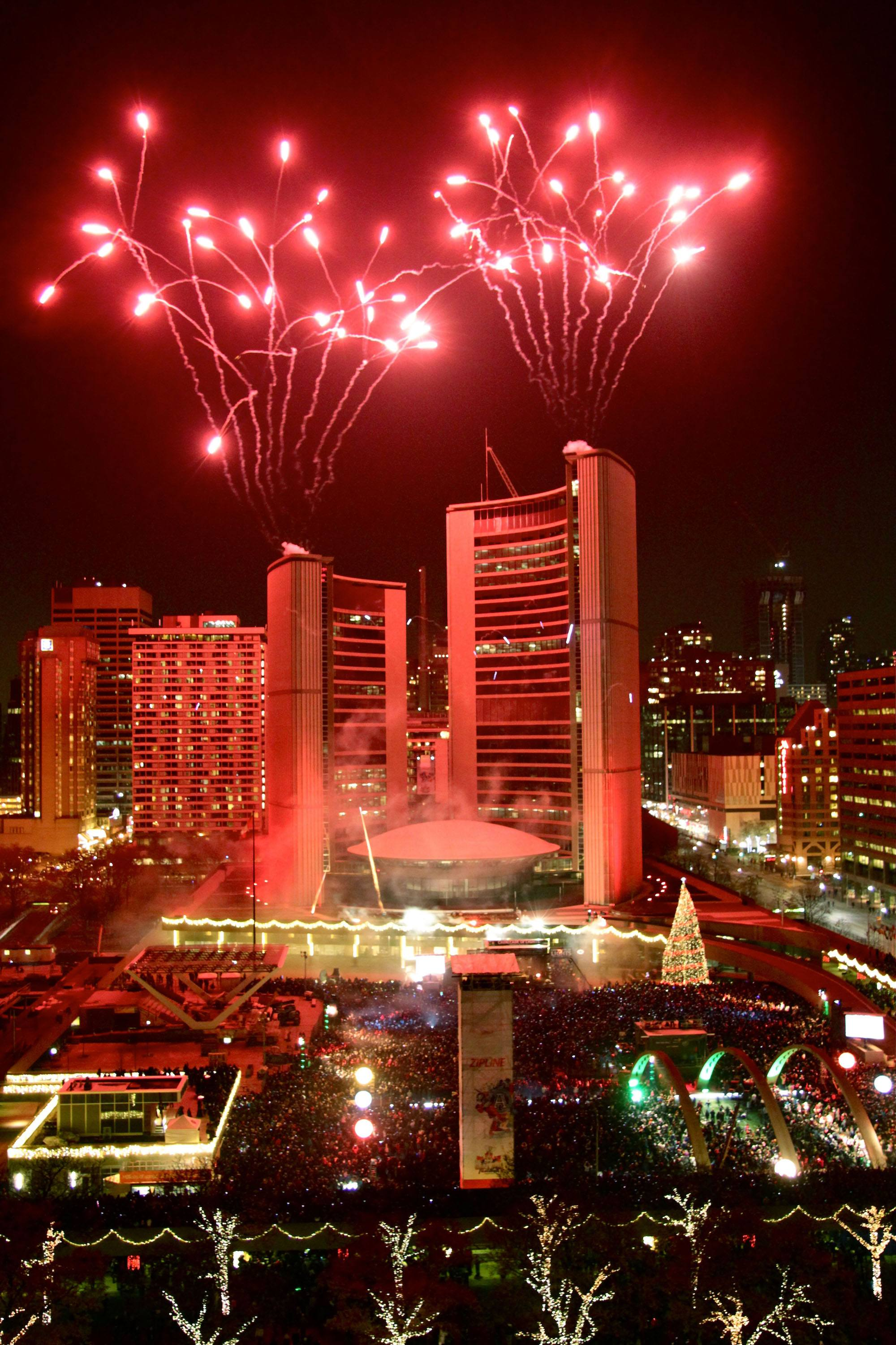 Cavalcade of Lights/City of Toronto