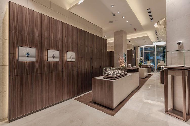 Rolex store interior 5