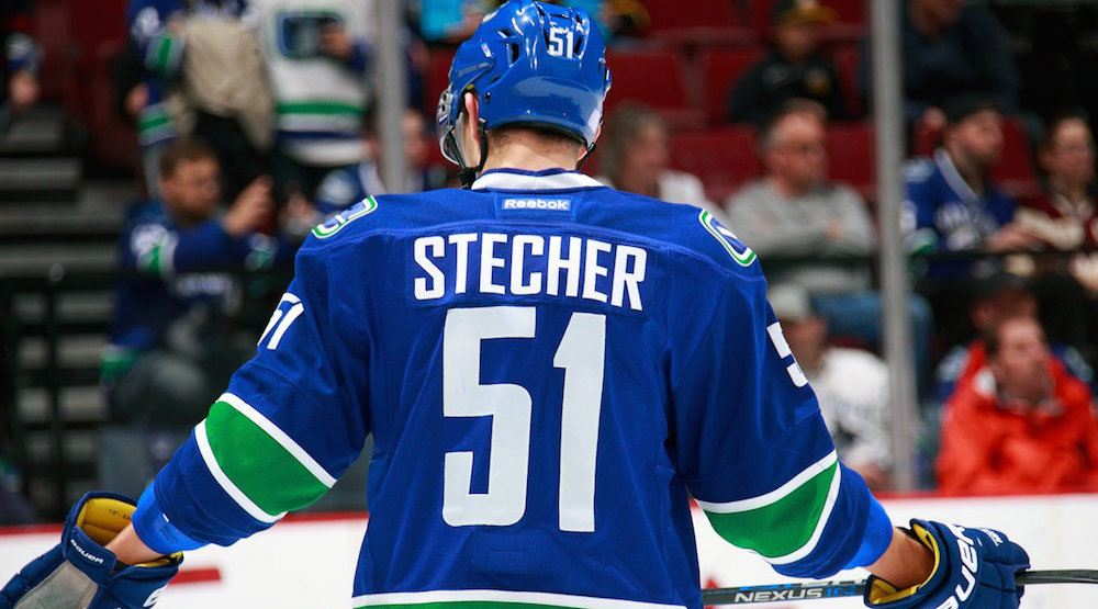 Canucks send down Troy Stecher