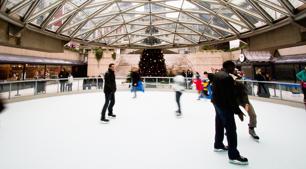 Robson Square Ice Rink reopens on December 1