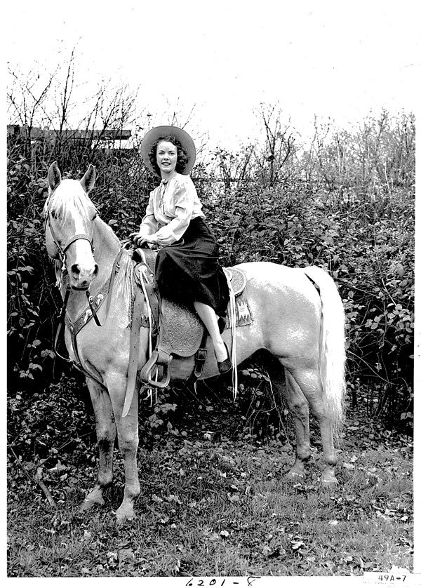 1949 cowgirl
