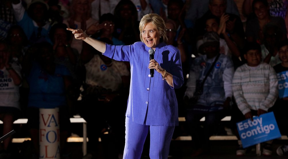 Canadian Pantsuit Day for Hillary Clinton to mark US Election Day