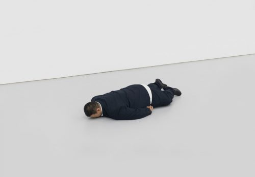 Image: He Xiangyu, The Death of Marat, 2011