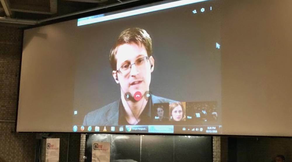 The best tweets from Edward Snowden's talk at McGill