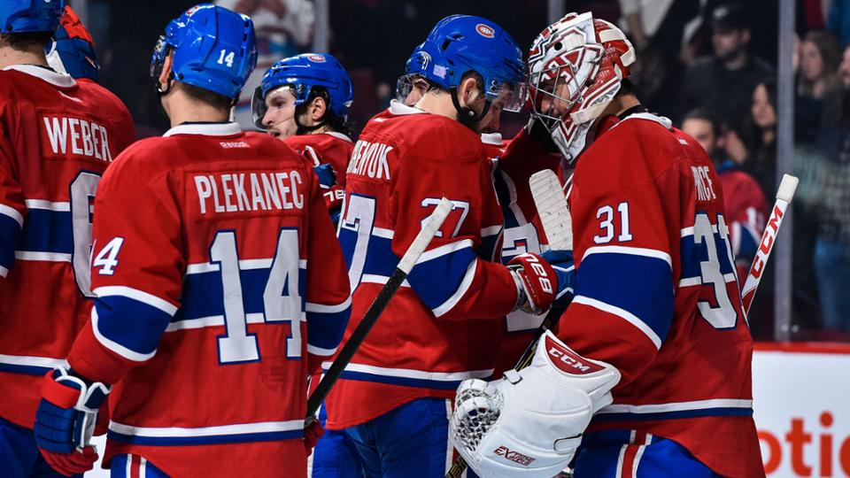 Canadiens off to best start in franchise history