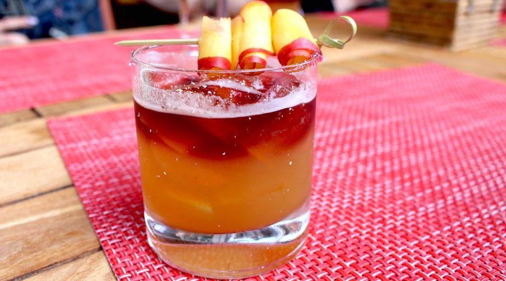 Sidecut cocktail whistler