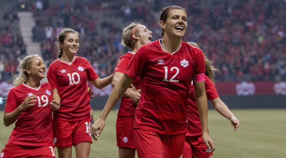 Christine Sinclair named finalist for Best FIFA Women's Player 2016