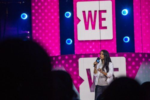 Lilly Singh/ Jamie Poh for WE Day