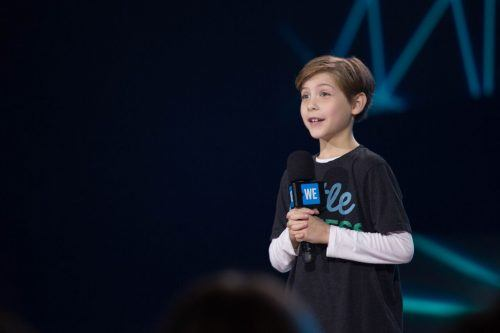 Jacob Tremblay/ Jamie Poh for WE Day