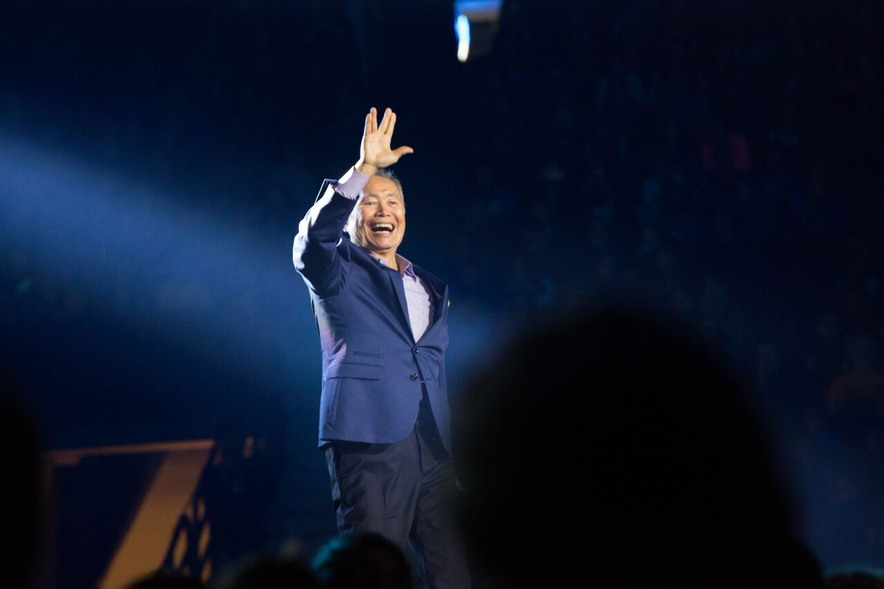 George Takei/ Jamie Poh for WE Day