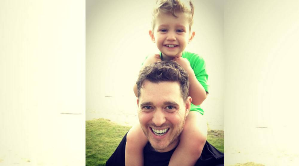 Michael Bublé's wife confirms son Noah is recovering well from cancer battle