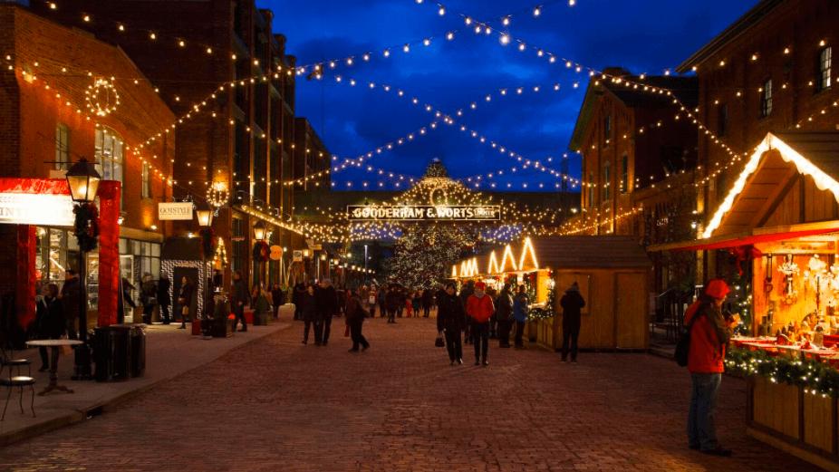 The Toronto Christmas Market starts today