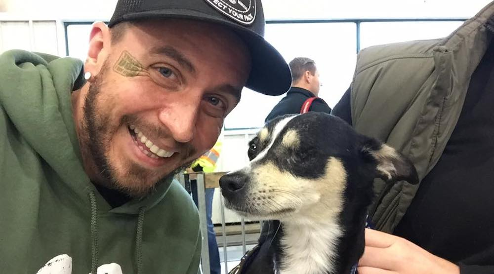 60 rescue dogs arrive at Vancouver International Airport (PHOTOS)