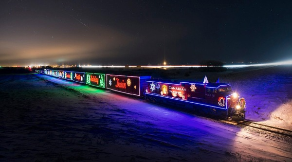 The amazing CPR 'Holiday Train' will be stopping in Calgary soon (PHOTOS)