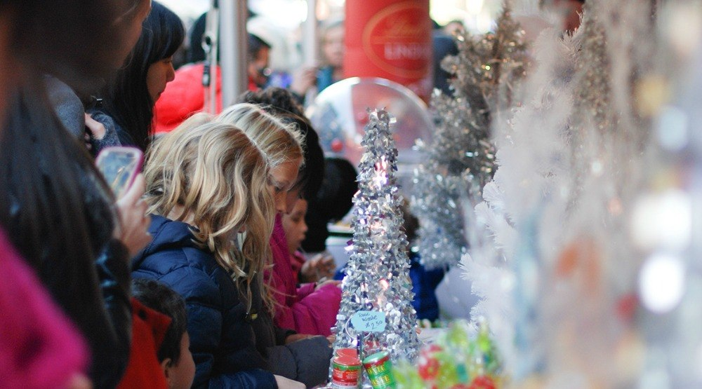 Yaletown is turning into a CandyTown on November 26