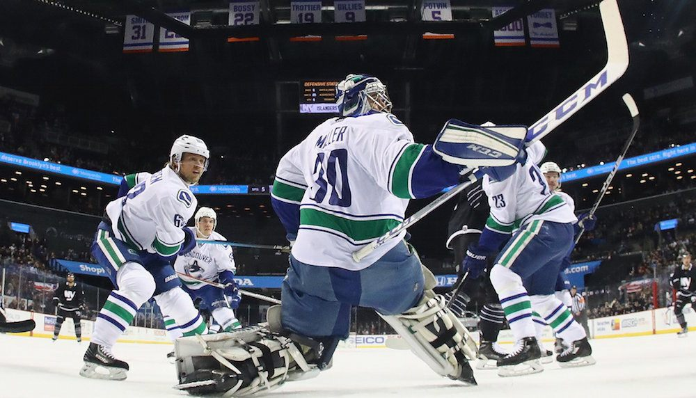 Canucks have a 2.5% chance of making the playoffs this season