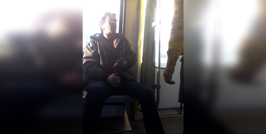 Disheartening racist CTrain confrontation surfaces from the weekend (VIDEO)