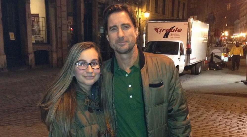 Luke Wilson spotted in Montreal