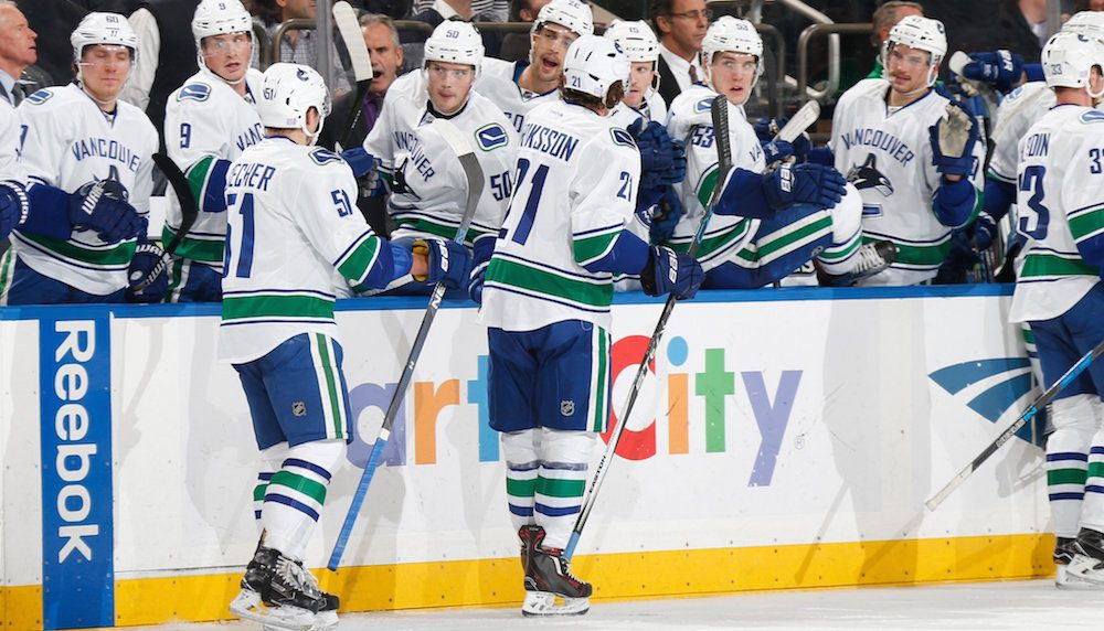 Eriksson canucks