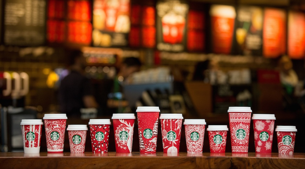 Red holiday cups 2016