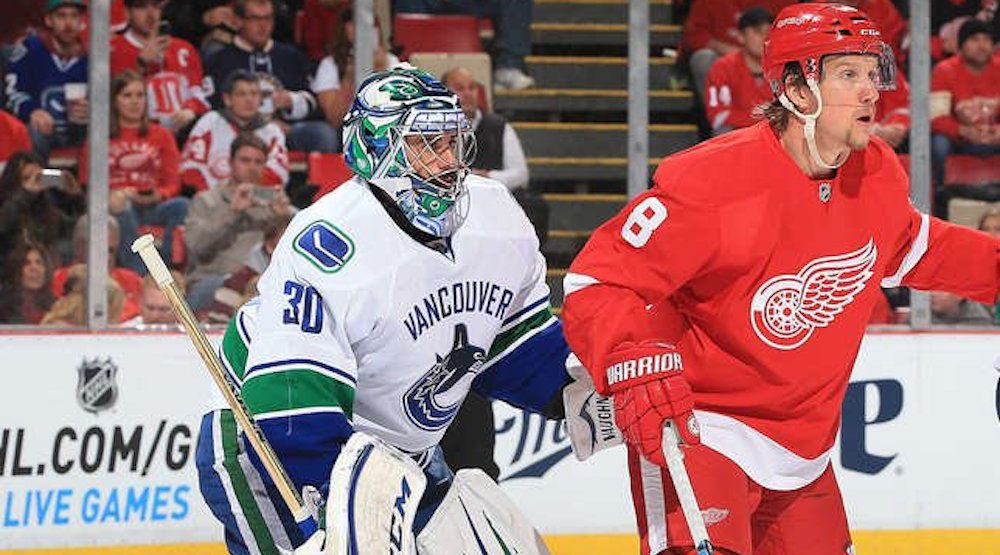Miller canucks red wings